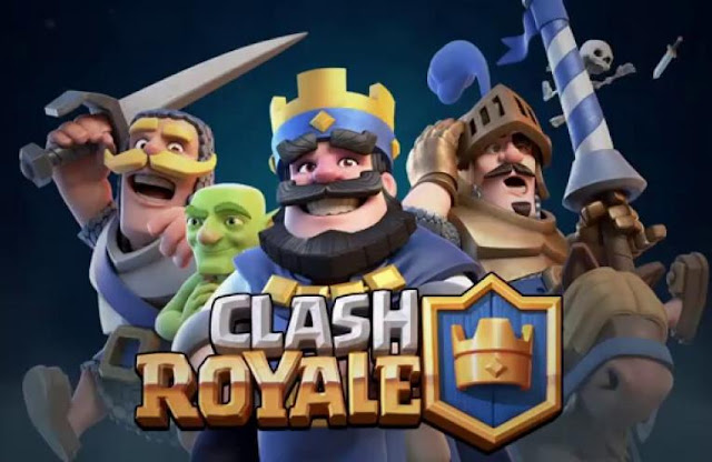 download permainan clash royale di android