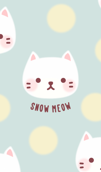 Snow Meow and The Polka Dots