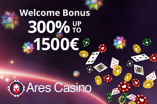 Ares Casino Screen