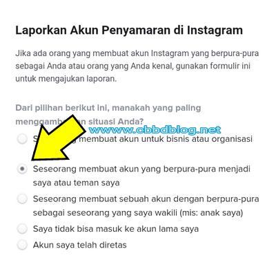 cara menghapus akun instagram tapi lupa password
