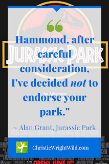 Jurassic Park - Plot Arc Example - When John Hammond invites Alan Grant to his theme park, he hopes to get several endorsements. || Story structure of the movie Jurassic Park.