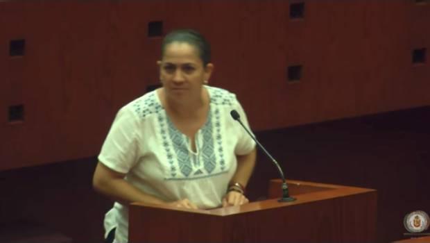Los normalistas no tenían que andar secuestrando autobuses por Iguala: Diputada del PRI