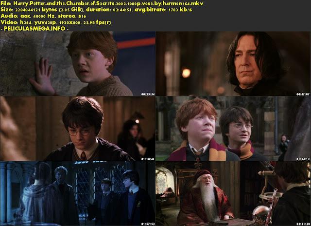 Descargar Harry Potter and the Chamber of Secrets Subtitulado por MEGA.