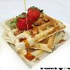 Yam waffles