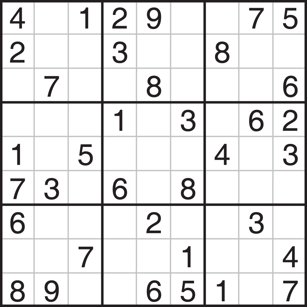 This is a graphic of Clever Sudoku Printable Pdf