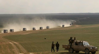 SDF spokesman Mustafa Bali said heavy clashes were ongoing on Tuesday after hundreds fled the battle zone overnight.