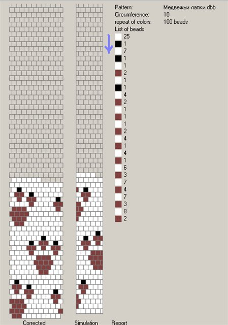 Все РукоТворчество: Детские вязаные жгуты из бисера схемы