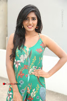 Actress Eesha Latest Pos in Green Floral Jumpsuit at Darshakudu Movie Teaser Launch .COM 0142.JPG