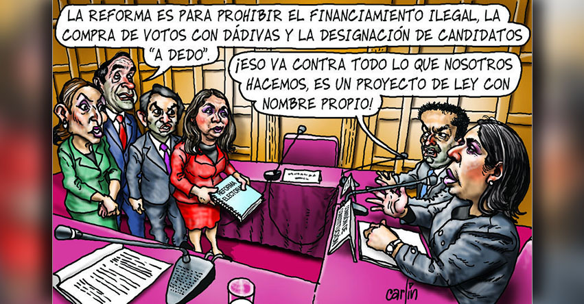 Carlincaturas Viernes 11 Agosto 2017 - La República