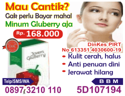 herbal Gluberry Collagen, suplemen Gluberry Collagen, nutrisi Gluberry Collagen