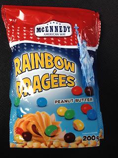 mcennedy peanut butter rainbow dragees