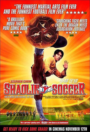 Shaolin Soccer 2001 Dual Audio