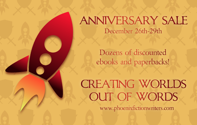 PFW Anniversary sale: December 26th-29th. Dozens of discounted ebooks and paperbacks!