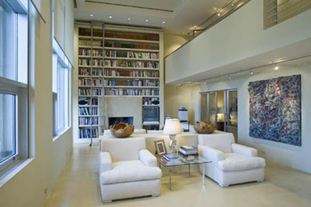 The Times New Roman Luxe Living Home Libraries