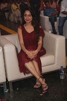 Pragya Jaiswal in Stunnign Deep neck Designer Maroon Dress at Nakshatram music launch ~ CelebesNext Celebrities Galleries 098.JPG