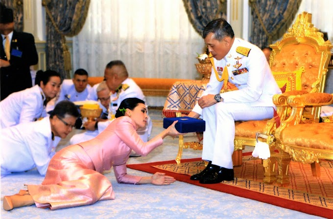 MAJLIS PERKAHWINAN RAJA THAILAND DENGAN BEKAS PENGAWAL PERIBADI