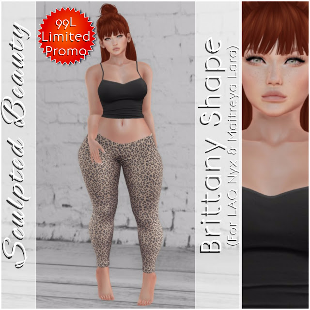 Brand New at Sculpted Beauty - Brittany Shape (Limited Promo)