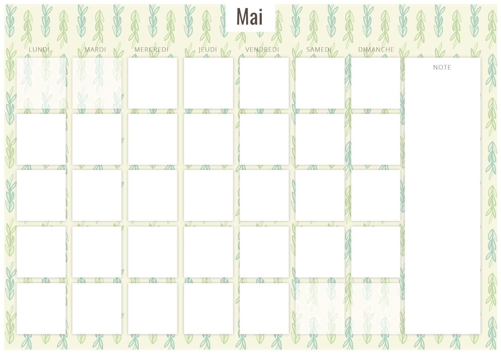 Calendrier Mensuel Juin 2019.Calendrier Mensuel Avril Mai Juin 2019