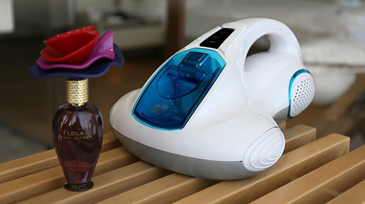 Solution for dust allergy - handheld vacuum