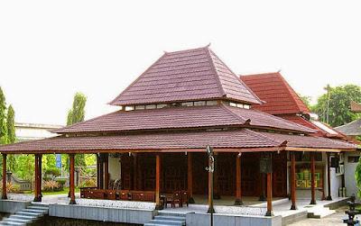 gambar rumah adat joglo jawa tengah