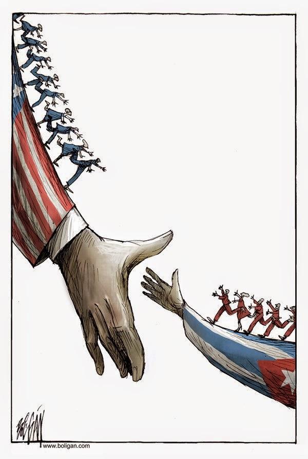 Angel Boligan - Sátira Surrealista | EUA vs Cuba
