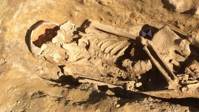 Roman skeletons unearthed at West Yorkshire building site