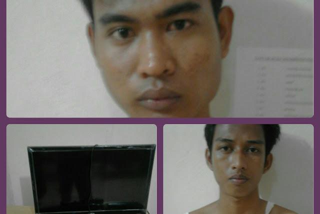 Bobol Rumah Dinas, Dua Pria Ditangkap