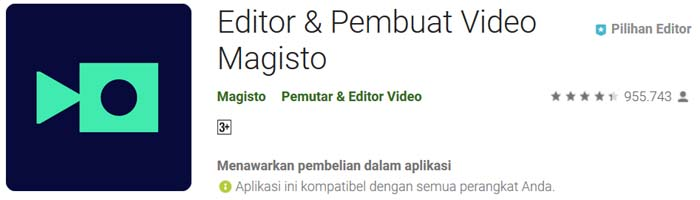 aplikasi video editor android tanpa watermark