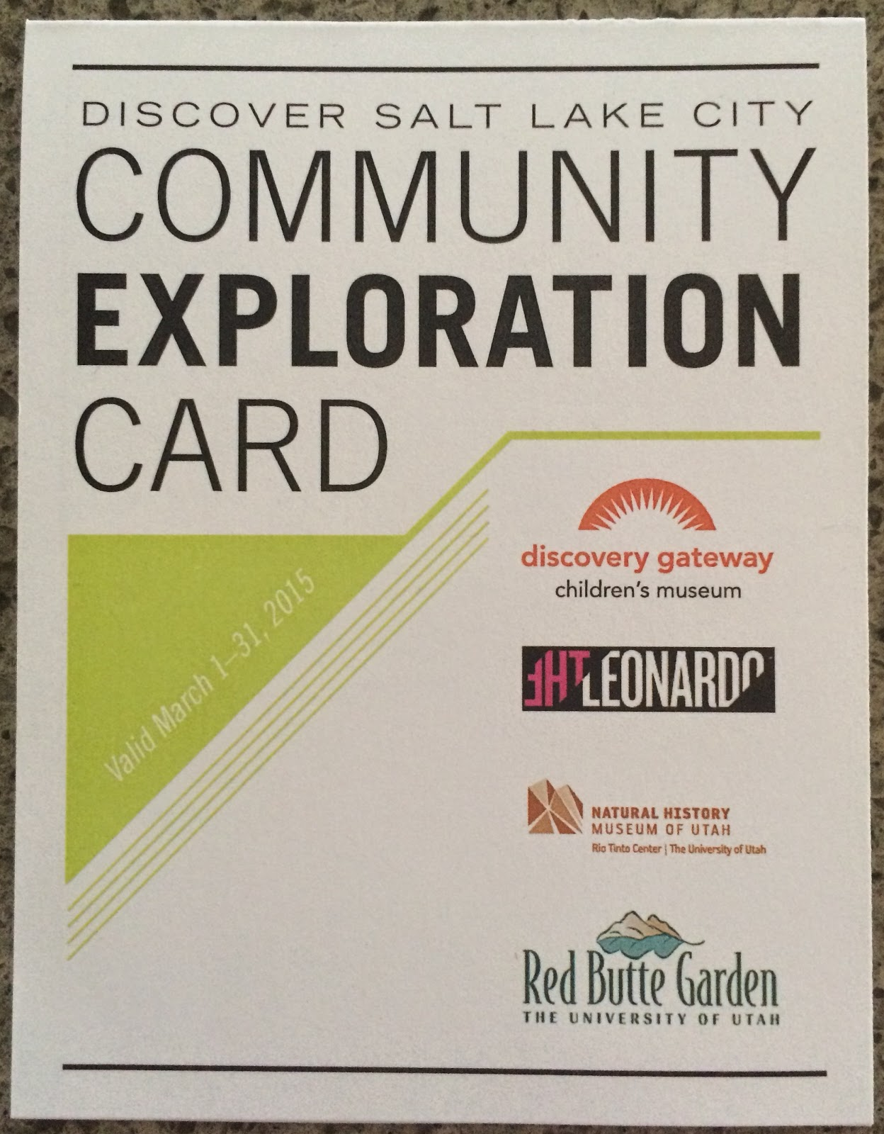 Rebuilding place in the urban space 08012017 09012017 the salt lake city library system has worked out an arrangement with five local cultural facilities discovery gateway the leonardo natural history museum spiritdancerdesigns Gallery