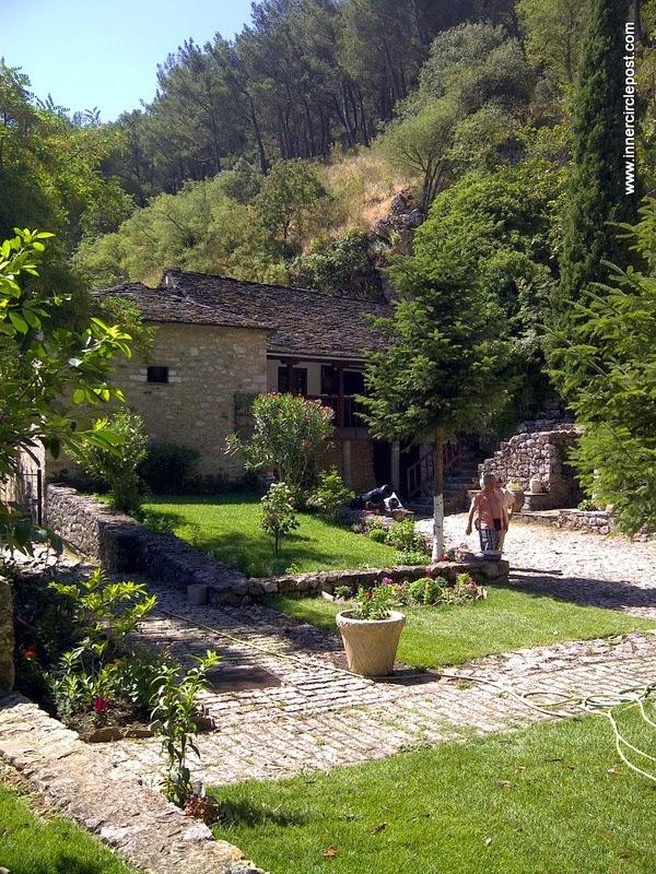 Greece mountain house