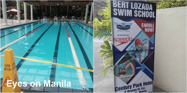 Century Park Hotel Swimming Pool: Swimming Lessons