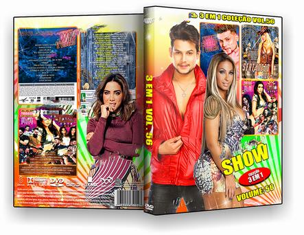 CAPA DVD – Shows 3 Em 1 Coleção Vol.56 – ISO