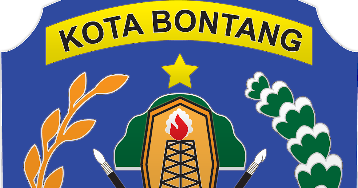 Logo Kabupaten Kota Logo Kota Bontang Kalimantan Timur
