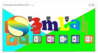 Download Perangkat Akreditasi Jenjang SD/SMP/SMA/SMK Beserta File Pendukung Lainnya