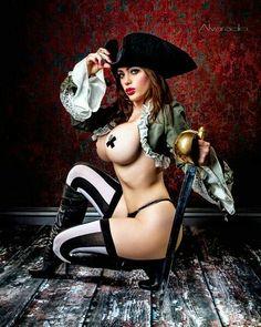 ALEJANDRA: Erotic pirate pictures