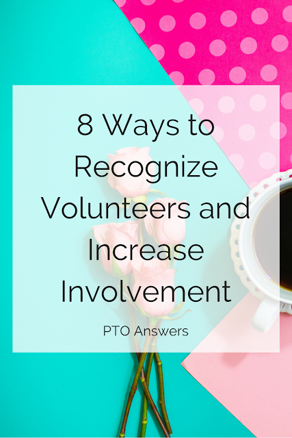 8 way to recognize volunteers and increase involvement in your PTO/PTA. There's a secret to getting and keeping more parents involved in your school group. It's not as hard as you might think. Get the skinny here.