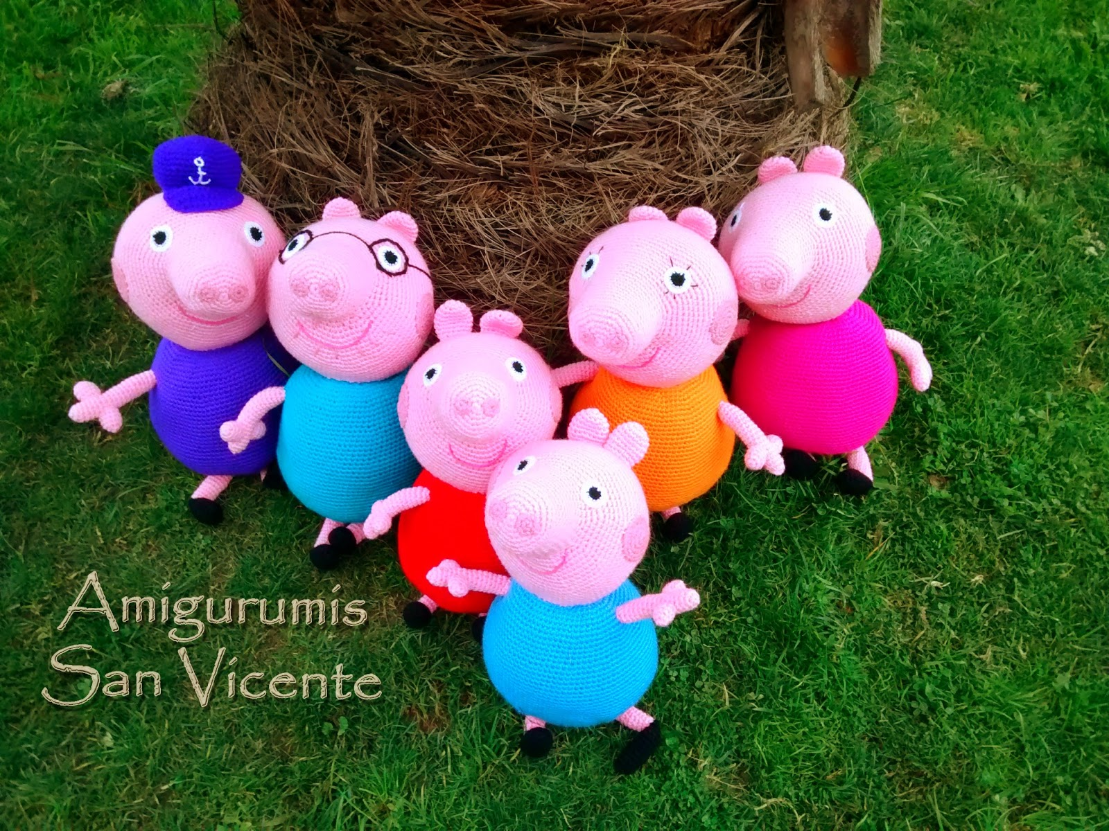 Peppa Pig amigurumi artedetei | Peppa pig amigurumi, Patrones ... | 1200x1600