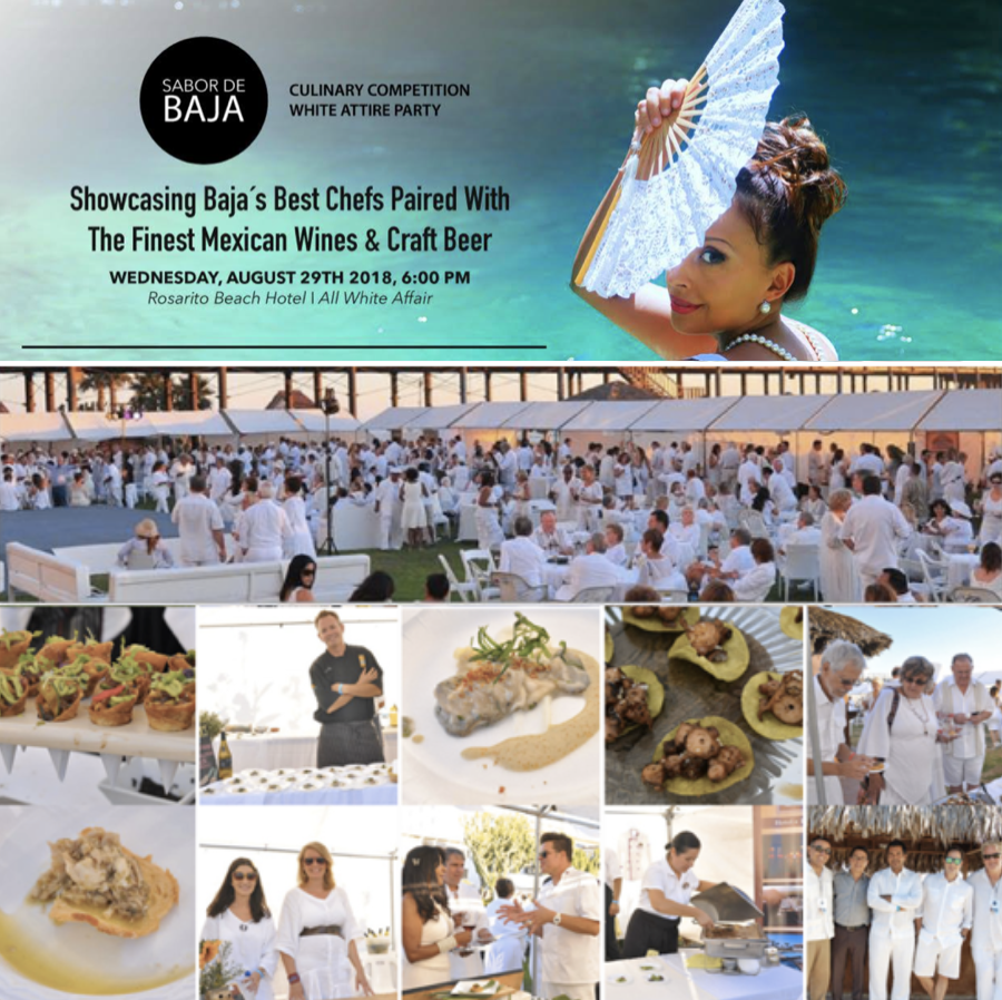 Don't Miss Sabor De Baja, An All-White Attire Food Fest Taking over Rosarito on August 29!