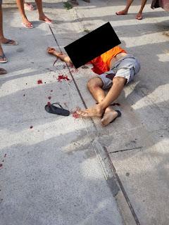 Homem é executado a tiros em posto