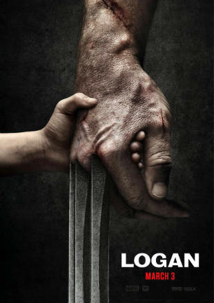 Poster of Logan 2017 BRRip 1080p Dual Audio Hindi English