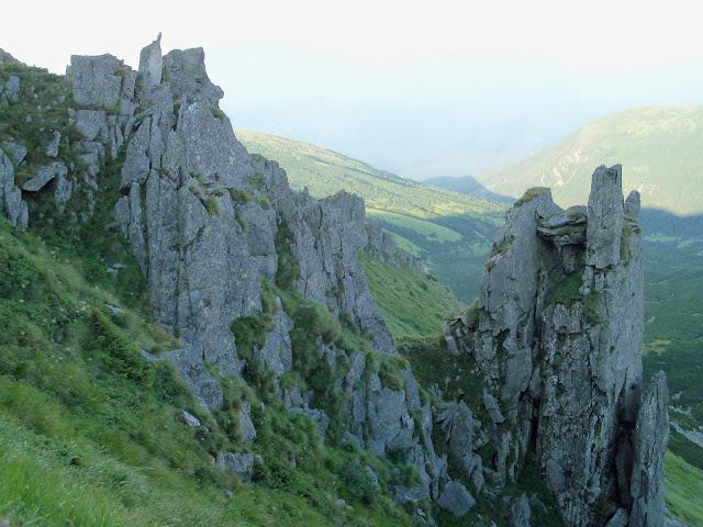 Скалы на горе Шпицы