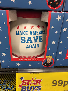 Make America Save Again donald trump home bargains