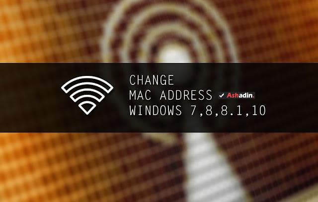 Cara mudah mengganti MAC Address di semua versi Windows