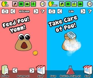 Screenshot Pou Mod Apk