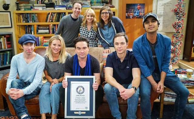 Bing Bang Theory rompe récord Guinness por Amy y Sheldon