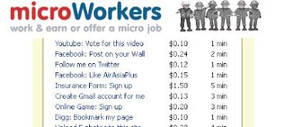 Microworkers এ ছোট ছোট কাজ করে ঘরে বসে টাকা আয় করুন