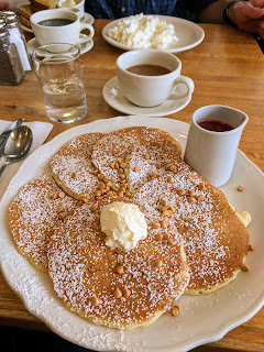 Best place to get pancakes for breakfast in Buffalo, New York: Original Pancake House short stack