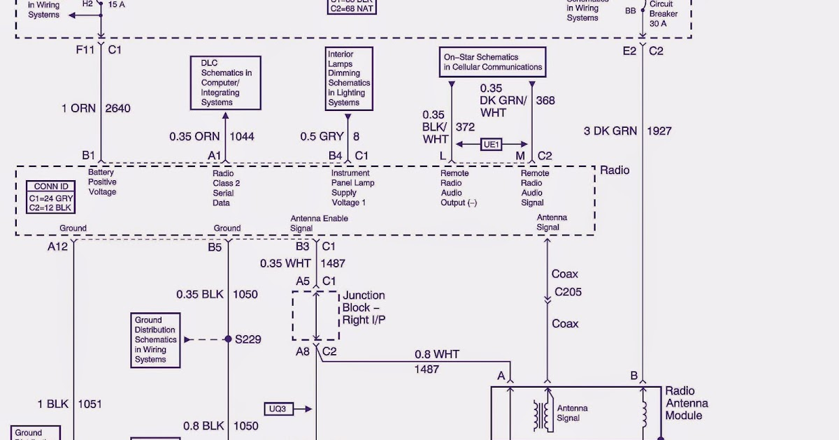 2005 chevy monte carlo radio wiring diagram schematic rise 2001 Chevy Tahoe Stereo Wiring Diagram
