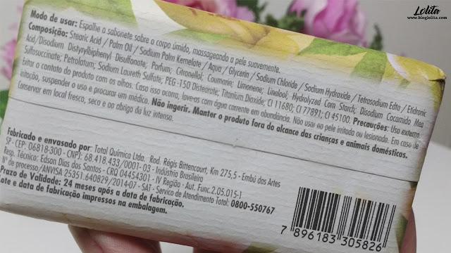 Resenha: Sabonete Giorno Bagno - Flor de Laranjeira e Vetiver