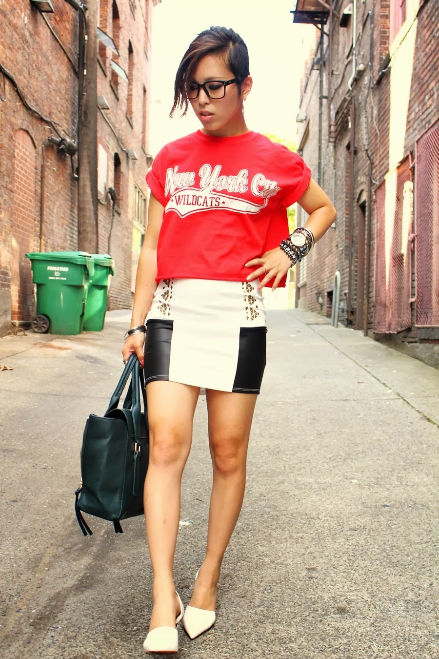 Aika S Love Closet Crop Top Sporty Chic